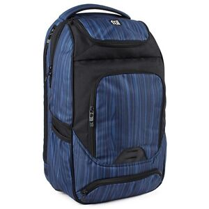 Details About Ful Workstation Travel Backpack Book Bag W Side Entry 15 Laptop Compartment New