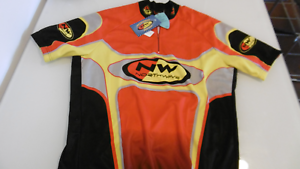 Northwave UV Predection Jersey Size XL Made In  NOS