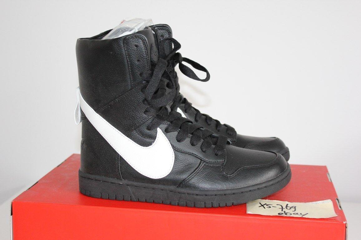 Nike NikeLab Dunk Lux RT Ricardo Tisci Black White 4 5.5 6.5 Givenchy QS Lab 6 5