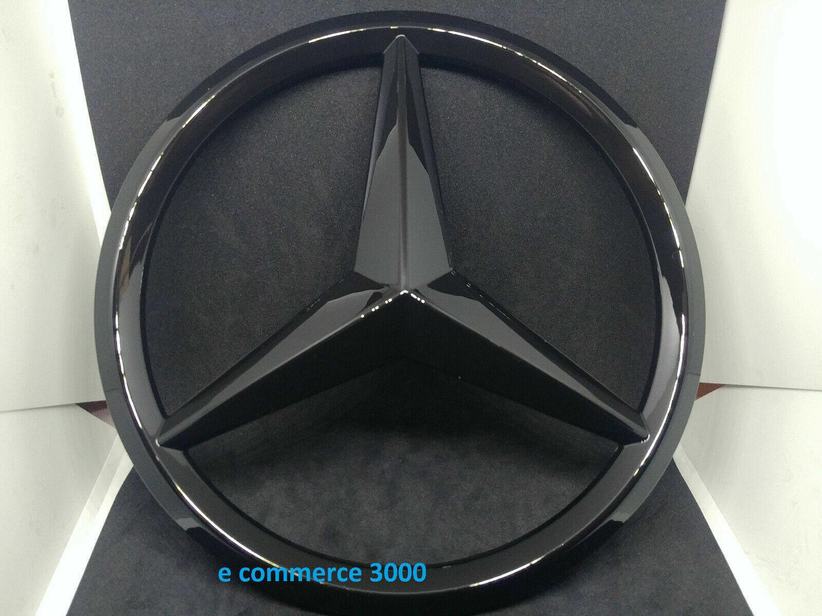 ORIGINALE Mercedes-Benz COFANO ricambio STELLA EMBLEMA NERO ML w164