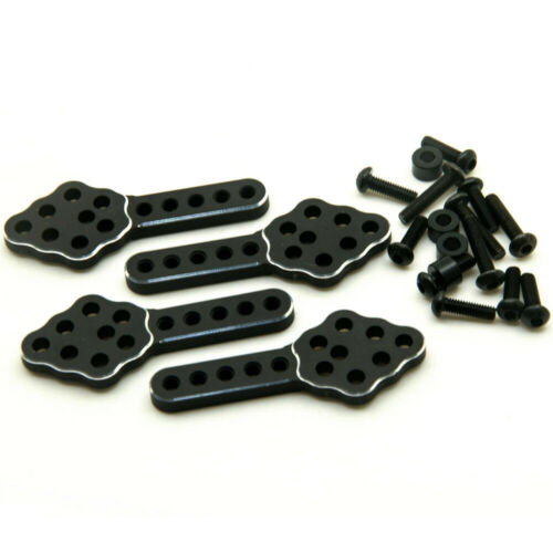 Metal Adjust Shock Mount Lift Kit Plate Droop for RC 1//10 Axial SCX10 Crawler US