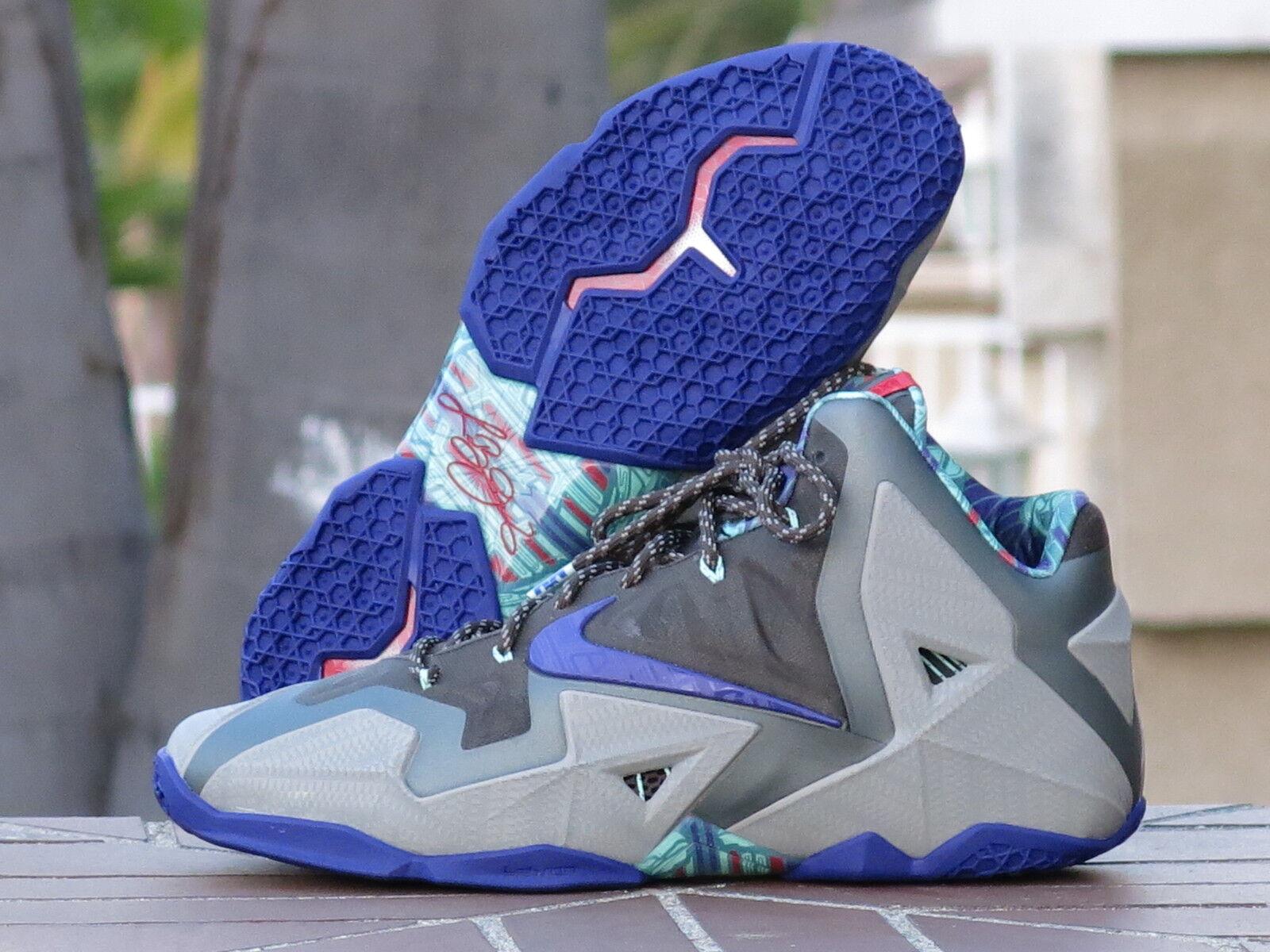 2013 Nike Lebron XI 11 Terracota Warrior Men's Basketball Shoes 616175-005 SZ 14