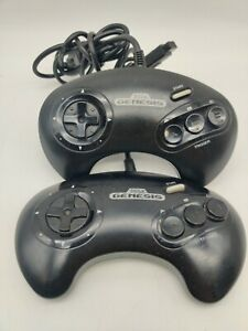 Lot-of-2-Official-Sega-Genesis-3-Button-Controller