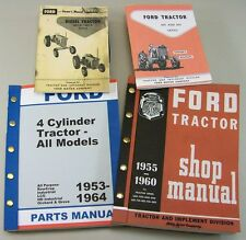 Ford 841d 851d Diesel Tractor Owner Operators Parts Repair Service Shop Manuals