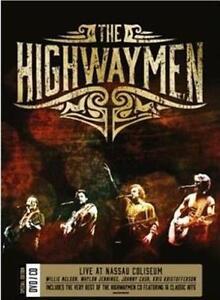 THE-HIGHWAYMEN-LIVE-AT-NASSAU-COLISEUM-CD-DVD-SET-SEALED-FREE-POST