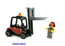 LEGO City / Ferrovia (60052) Carrello elevatore con personaggio