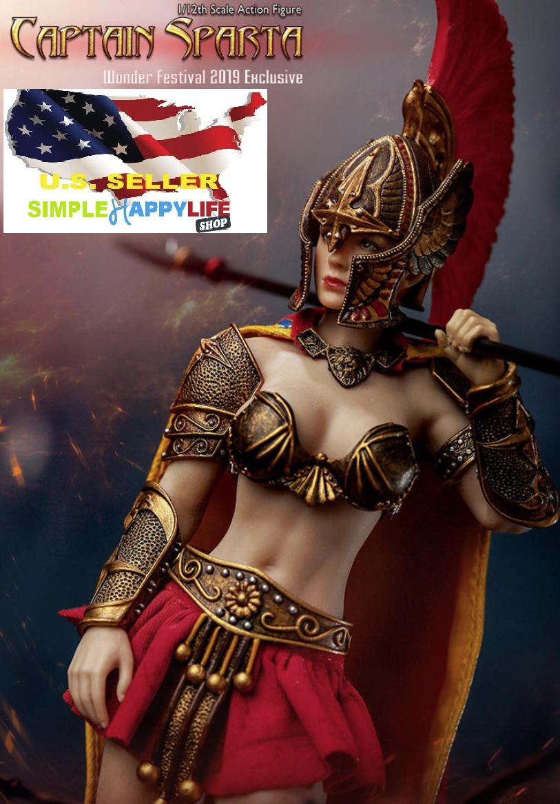 TBLeague 1 12 6  Captain Sparta Figure PL2019-143B Phicen LIMITED EDITION ❶USA❶