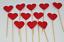 12-Paillettes-Coeur-Cupcake-Toppers-Parti-Decoration-cup-cake-topper-Food-drapeaux miniature 22