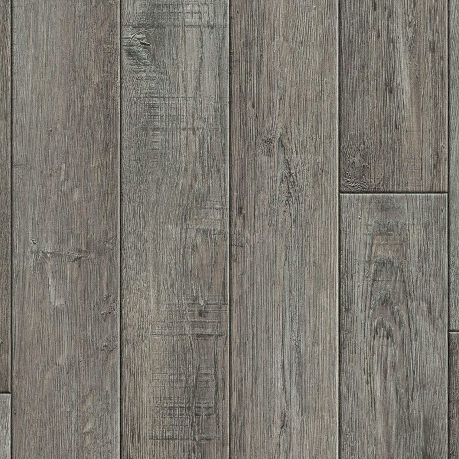PVC Vinyl Bodenbelag Tarkett Exclusive 260 Rustic Oak Dark grau Breite 400 cm