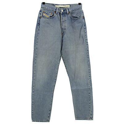 #4302 Diesel Jeans Donna Pantaloni Miller Denim Blue Stone Blu 30/30-mostra Il Titolo Originale Diversificato Nell'Imballaggio