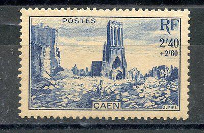 Stamp Eglise Saint Jean A Caen Timbre France Neuf N° 746