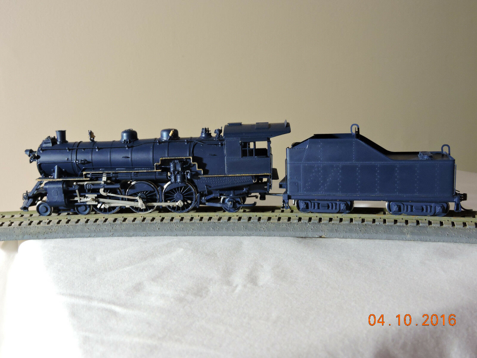 Locomotora de cobre Ho - scale Oeste   nakamuru J - 1 Pacífico 4 - 6 - 2 (DC)
