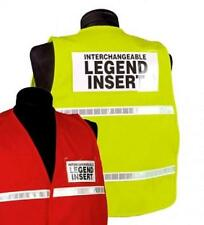 Mesh Incident Command Safety Vest Orange Reflective ICM103OR 2XL-3XL Pockets K55