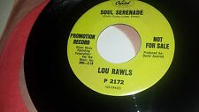 LOU RAWLS Soul Serenade / You're Good For Me CAPITOL 2172 PROMO 45 7""
