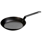 Lodge CRS10 Carbon Steel Skillet, Pre-Seasoned, 10-inch, Black