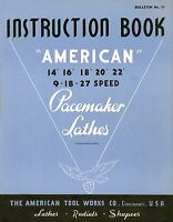 American Pacemaker Lathes Instruction Book Cdrom Pdf