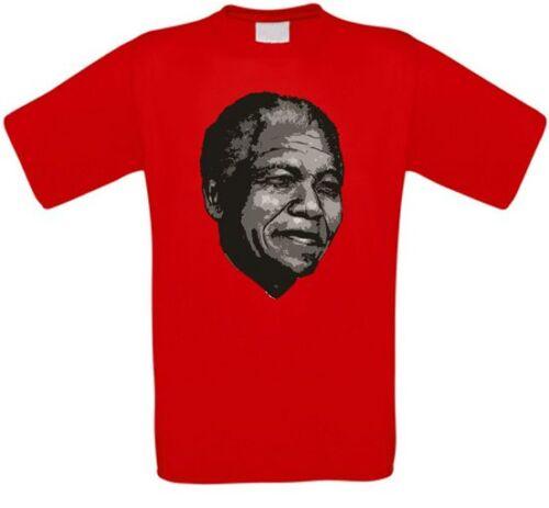 Nelson Mandela Anc Afrique du sud south africa Freedom t-shirt toutes tailles NEUF