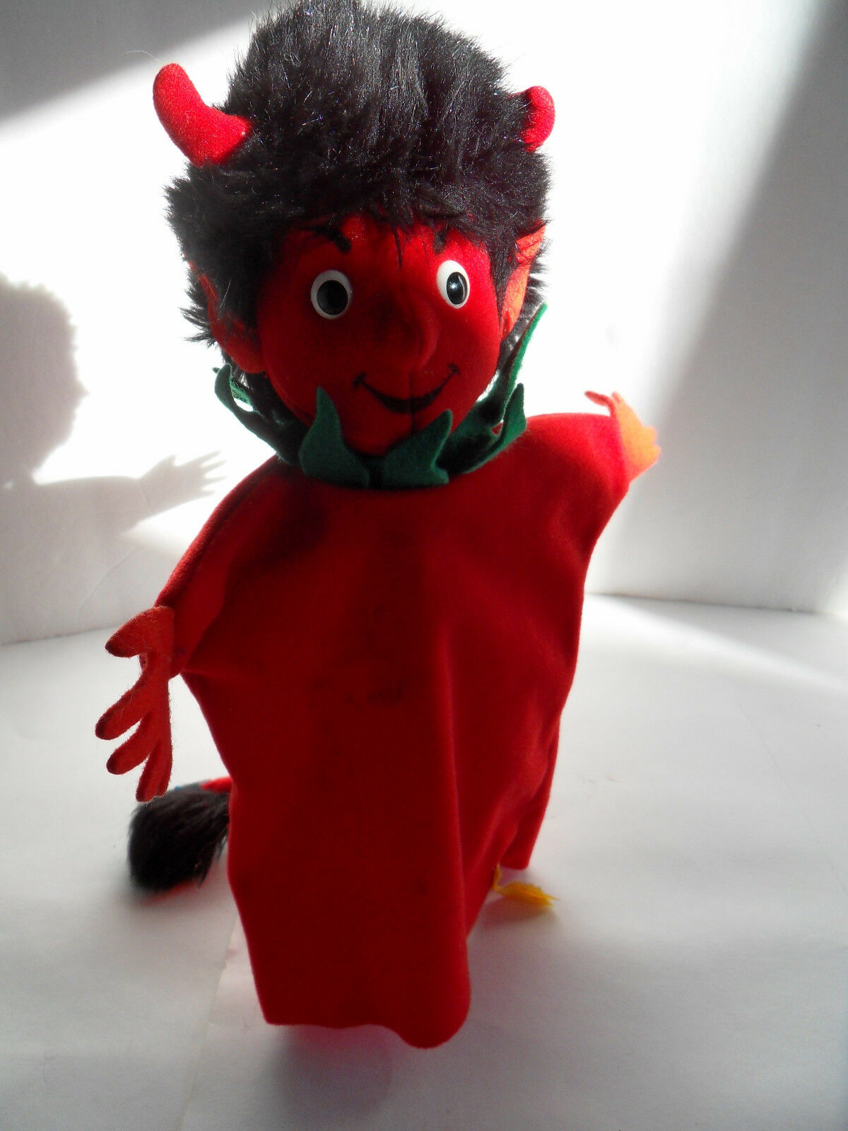 Steiff hand puppet Devil  IDs stuffed animal 2295