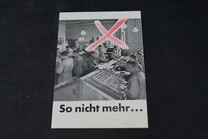 Age Print Alfred Dietrich Setzerei Racking Advertising Vintage Collector