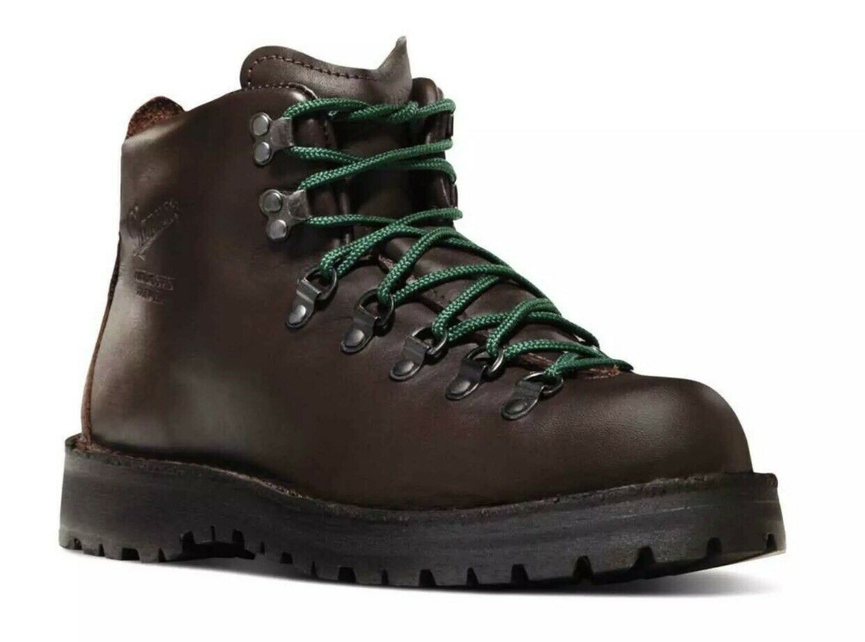Danner Mens Mountain Light II Marroneee Hiking stivali 30800 - Dimensione 7 D NEW IN BOX