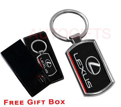 LEXUS HIGH QUALITY METAL CAR KEYRING gift box
