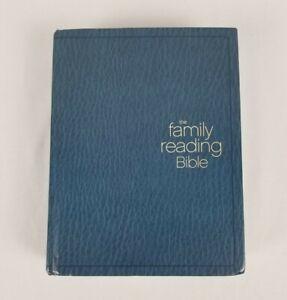 The Family Reading Bible NIV New International Version Hard Copy 2010 Zondervan
