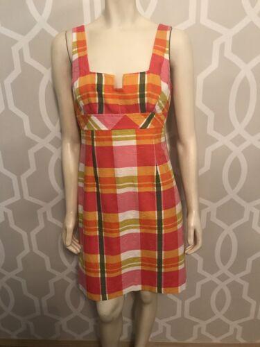 TRINA TURK Womens Sleeveless Sheath Dress Size 6 O