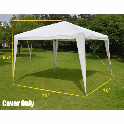 10' x 10' CANOPY GAZEBO REPLACEMENT PE TOP COVER ONLY