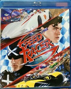 SPEED-RACER-2-Disc-Set-Blu-ray-DVD-Game-The-Wachowski-Brothers
