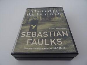 Girl-At-The-Lion-d-039-Or-by-Sebastian-Faulks-Audio-Book-4-Cassettes-Samuel-West