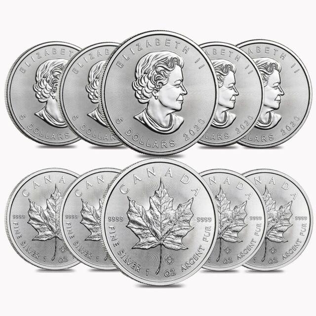 Predator Series 2018 Canada Wolf 5 Dollars - Silver 9999 1 Oz BU 2018