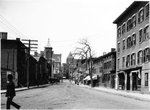 Hartford CT Temple Street Old Photo