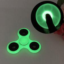 Luminous Glow In The Dark Hand Fidget Spinner EDC Finger Desk Toy Focus ADHD