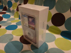 Apple Ipod Classic 160gb Silver 7th Generation Rare New Factory Sealed Mc293ll A Ebay
