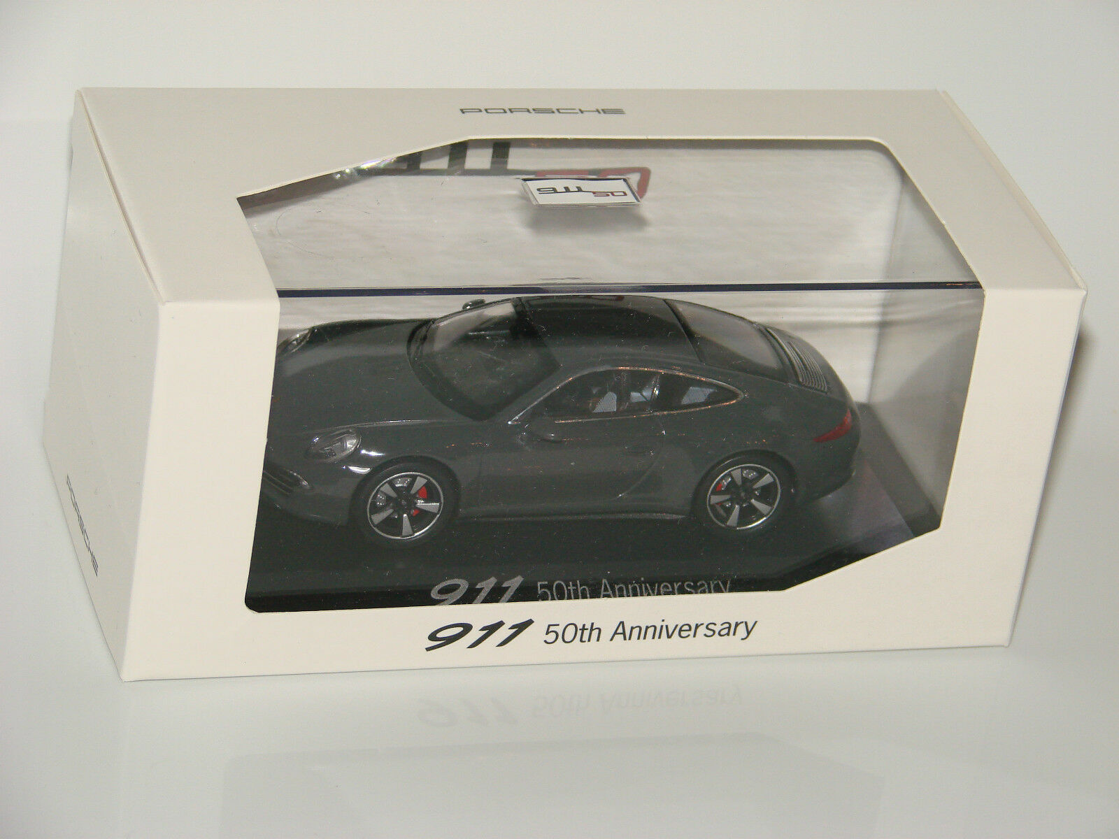 Porsche 911 coupé Graphite gris - 50th Anniversary-special edition 1 43 New