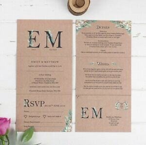Wedding-Invitation-Kraft-Fern-Monogram