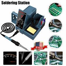 Soldering Station Weller Soldering Iron Kit Temperature Adjust Rapid Heating Us