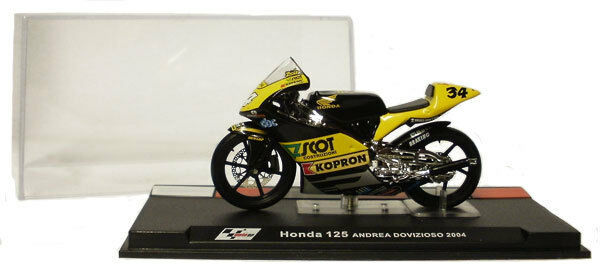 IXO Altaya ALT16 Honda RS125 2004 - Andrea Dovizioso 1 24 Scale