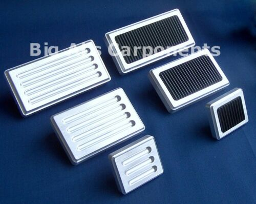 Rubber Brake Pedal Pad or Dimmer Switch Pedal Pad Billet Aluminum