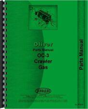 Oliver Oc 3 Cletrac Crawler Parts Manual Catalog