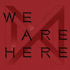 MONSTA-X-WE-ARE-HERE-2nd-Album-TAKE-2-4-Ver-SET-4POSTER-4Book-8Card-4Pre-Order