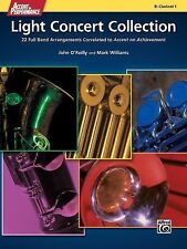 Accent on Performance Light Concert Collection: 22 Full Band Arrangements Correl