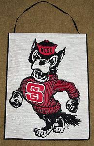 North Carolina State University ~ NCSU Wolfpack Tapestry Bannerette Wall Hanging