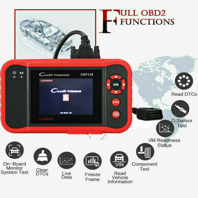 LAUNCH CRP129 Premium Pro code-FullAccess Diagnostique OBDII Scan LAU301050232