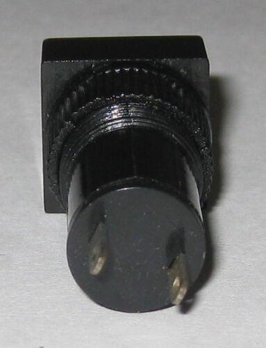 3 to 12 VDC 12mm Lens Plastic Case Green Panel Mount Square LED Indicator