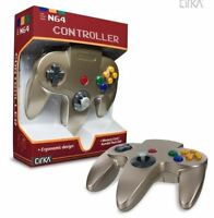 Cirka N64 Wired Controller (gold) For Nintendo 64