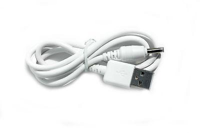 90 Cm USB cable Blanco para Motorola MBP621-S Cámara Monitor de Bebé de unidad del bebé