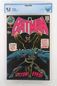 Batman-226-NEAR-MINT-CBCS-9-2-NM-DC-1970-Ten-Eye-App-Neal-Adams-art