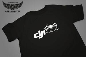 L DJI Mavic 2 Pro T-Shirt Black /& White S M XL 2XL Quadcopter Drone