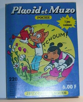 Ambicioso Placid Muzo Poche N°220 D Livre Bande Dessinee Bd Made In France Arnal 162 Pages